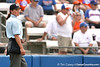 080419_CornwellChristie_1069_TCasey<br /> <br /> photo by Tim Casey<br /> <br /> during the no. 3-ranked Florida Gators' sweep of a doubleheader against the Kentucky Wildcats on Saturday, April 19, 2008 at Katie Seashole Pressly Softball Stadium in Gainesville, Fla. UF improved to 50-2 on the season.