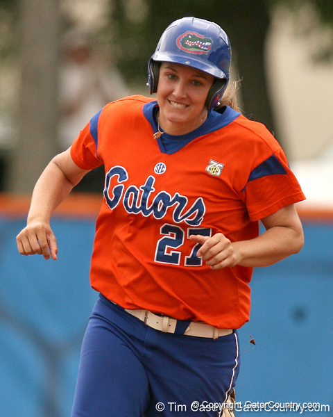 080419_BrooksCorrie_0591_TCasey<br /> <br /> photo by Tim Casey<br /> <br /> during the no. 3-ranked Florida Gators' sweep of a doubleheader against the Kentucky Wildcats on Saturday, April 19, 2008 at Katie Seashole Pressly Softball Stadium in Gainesville, Fla. UF improved to 50-2 on the season.