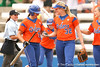 080419_HilberthKristinaBrombacherStephanie_0606_TCasey<br /> <br /> photo by Tim Casey<br /> <br /> during the no. 3-ranked Florida Gators' sweep of a doubleheader against the Kentucky Wildcats on Saturday, April 19, 2008 at Katie Seashole Pressly Softball Stadium in Gainesville, Fla. UF improved to 50-2 on the season.