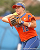 080419_BushMegan_0890_TCasey<br /> <br /> photo by Tim Casey<br /> <br /> during the no. 3-ranked Florida Gators' sweep of a doubleheader against the Kentucky Wildcats on Saturday, April 19, 2008 at Katie Seashole Pressly Softball Stadium in Gainesville, Fla. UF improved to 50-2 on the season.