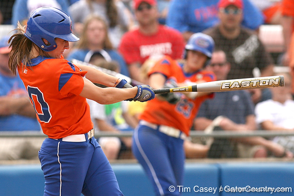 080419_EneaFrancesca_0856_TCasey<br /> <br /> photo by Tim Casey<br /> <br /> during the no. 3-ranked Florida Gators' sweep of a doubleheader against the Kentucky Wildcats on Saturday, April 19, 2008 at Katie Seashole Pressly Softball Stadium in Gainesville, Fla. UF improved to 50-2 on the season.