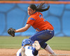 080419_PaculbaAja_1018_TCasey<br /> <br /> photo by Tim Casey<br /> <br /> during the no. 3-ranked Florida Gators' sweep of a doubleheader against the Kentucky Wildcats on Saturday, April 19, 2008 at Katie Seashole Pressly Softball Stadium in Gainesville, Fla. UF improved to 50-2 on the season.