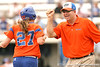 080419_BrooksCorrieWaltonTim_0597_TCasey<br /> <br /> photo by Tim Casey<br /> <br /> during the no. 3-ranked Florida Gators' sweep of a doubleheader against the Kentucky Wildcats on Saturday, April 19, 2008 at Katie Seashole Pressly Softball Stadium in Gainesville, Fla. UF improved to 50-2 on the season.