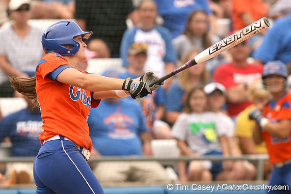 080419_RatliffMary_0883_TCasey<br /> <br /> photo by Tim Casey<br /> <br /> during the no. 3-ranked Florida Gators' sweep of a doubleheader against the Kentucky Wildcats on Saturday, April 19, 2008 at Katie Seashole Pressly Softball Stadium in Gainesville, Fla. UF improved to 50-2 on the season.