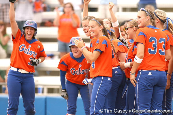 080419_HinesDanyell_0599_TCasey<br /> <br /> photo by Tim Casey<br /> <br /> during the no. 3-ranked Florida Gators' sweep of a doubleheader against the Kentucky Wildcats on Saturday, April 19, 2008 at Katie Seashole Pressly Softball Stadium in Gainesville, Fla. UF improved to 50-2 on the season.