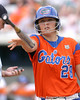080419_DeFeliceTiffany_0267_TCasey<br /> <br /> photo by Tim Casey<br /> <br /> during the no. 3-ranked Florida Gators' sweep of a doubleheader against the Kentucky Wildcats on Saturday, April 19, 2008 at Katie Seashole Pressly Softball Stadium in Gainesville, Fla. UF improved to 50-2 on the season.