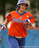 080419_BushMegan_0545_TCasey<br /> <br /> photo by Tim Casey<br /> <br /> during the no. 3-ranked Florida Gators' sweep of a doubleheader against the Kentucky Wildcats on Saturday, April 19, 2008 at Katie Seashole Pressly Softball Stadium in Gainesville, Fla. UF improved to 50-2 on the season.