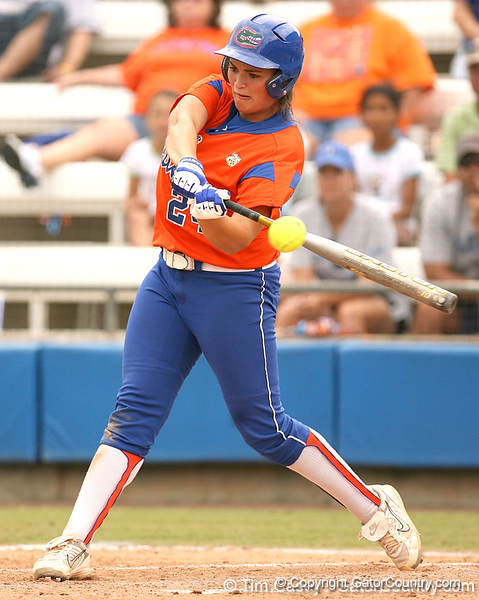 080419_GardinerAli_0740_TCasey<br /> <br /> photo by Tim Casey<br /> <br /> during the no. 3-ranked Florida Gators' sweep of a doubleheader against the Kentucky Wildcats on Saturday, April 19, 2008 at Katie Seashole Pressly Softball Stadium in Gainesville, Fla. UF improved to 50-2 on the season.