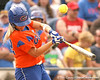 080419_BushMegan_0952_TCasey<br /> <br /> photo by Tim Casey<br /> <br /> during the no. 3-ranked Florida Gators' sweep of a doubleheader against the Kentucky Wildcats on Saturday, April 19, 2008 at Katie Seashole Pressly Softball Stadium in Gainesville, Fla. UF improved to 50-2 on the season.