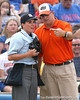 080419_WaltonTimCornwellChristie_1006_TCasey<br /> <br /> photo by Tim Casey<br /> <br /> during the no. 3-ranked Florida Gators' sweep of a doubleheader against the Kentucky Wildcats on Saturday, April 19, 2008 at Katie Seashole Pressly Softball Stadium in Gainesville, Fla. UF improved to 50-2 on the season.