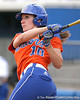 080419_EneaFrancesca_0243_TCasey<br /> <br /> photo by Tim Casey<br /> <br /> during the no. 3-ranked Florida Gators' sweep of a doubleheader against the Kentucky Wildcats on Saturday, April 19, 2008 at Katie Seashole Pressly Softball Stadium in Gainesville, Fla. UF improved to 50-2 on the season.