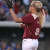 photo by Tim Casey<br /> <br /> FSU pitcher Terese Gober winds up during the seventh inning of the Gators' 4-3 win in nine innings against the Florida State Seminoles on Wednesday, April 8, 2009 at Katie Seashole Pressly Softball Stadium in Gainesville, Fla.