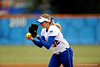 (Casey Brooke Lawson / Gator Country) Stephanie Brombacher pitches during University of Florida's game against Georgia Tech. The Gators defeated the Yellow jackets in six innings, 11 to 1, on Sunday, February 15, 2009 during the Lipton Softball Invitational championship at Katie Seashole Pressly Stadium.