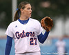 photo by Tim Casey<br /> <br /> Florida sophomore Corrie Brooks covers third base during the Gators' 3-0 win against the Baylor Bears on Friday, February 6, 2009 at Katie Seashole Pressly Softball Stadium in Gainesville, Fla.