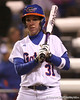 photo by Tim Casey<br /> <br /> Florida senior Kristina Hilberth bats in the sixth inning during the Gators' 3-0 win against the Baylor Bears on Friday, February 6, 2009 at Katie Seashole Pressly Softball Stadium in Gainesville, Fla.