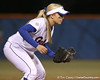 photo by Tim Casey<br /> <br /> Florida sophomore Megan Bush stands ready at shortstop during the seventh inning of the Gators' 3-0 win against the Baylor Bears on Friday, February 6, 2009 at Katie Seashole Pressly Softball Stadium in Gainesville, Fla.