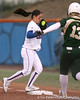 photo by Tim Casey<br /> <br /> Florida sophomore Aja Paculba fields a catch at first base in the first inning during the Gators' 3-0 win against the Baylor Bears on Friday, February 6, 2009 at Katie Seashole Pressly Softball Stadium in Gainesville, Fla.