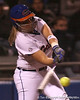 photo by Tim Casey<br /> <br /> Florida sophomore Tiffany DeFelice bats in the fourth inning during the Gators' 3-0 win against the Baylor Bears on Friday, February 6, 2009 at Katie Seashole Pressly Softball Stadium in Gainesville, Fla.
