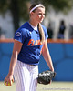 photo by Tim Casey<br /> <br /> Florida senior pitcher Stacey Nelson prepares to wind up during the Gators' 1-0 loss to the Baylor Bears on Sunday, February 8, 2009 at Katie Seashole Pressly Softball Stadium in Gainesville, Fla.