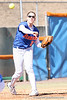 photo by Tim Casey<br /> <br /> Florida junior third baseman Corrie Brooks throws out a runner at first base during the second inning of the Gators' 1-0 loss to the Baylor Bears on Sunday, February 8, 2009 at Katie Seashole Pressly Softball Stadium in Gainesville, Fla.