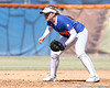 photo by Tim Casey<br /> <br /> Florida sophomore shortstop Megan Bush readies herself for a play during the second inning of the Gators' 1-0 loss to the Baylor Bears on Sunday, February 8, 2009 at Katie Seashole Pressly Softball Stadium in Gainesville, Fla.