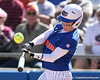 photo by Tim Casey<br /> <br /> Florida senior centerfielder Kim Waleszonia fouls out to first base during the fifth inning of the Gators' 1-0 loss to the Baylor Bears on Sunday, February 8, 2009 at Katie Seashole Pressly Softball Stadium in Gainesville, Fla.