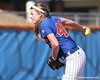 photo by Tim Casey<br /> <br /> Florida senior pitcher Stacey Nelson winds up during the second inning of the Gators' 1-0 loss to the Baylor Bears on Sunday, February 8, 2009 at Katie Seashole Pressly Softball Stadium in Gainesville, Fla.