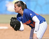 photo by Tim Casey<br /> <br /> Florida senior first baseman Ali Gardiner watches the batter during the seventh inning of the Gators' 1-0 loss to the Baylor Bears on Sunday, February 8, 2009 at Katie Seashole Pressly Softball Stadium in Gainesville, Fla.