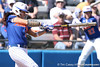 photo by Tim Casey<br /> <br /> Florida sophomore Kelsey Bruder strikes out during the second inning of the Gators' 1-0 loss to the Baylor Bears on Sunday, February 8, 2009 at Katie Seashole Pressly Softball Stadium in Gainesville, Fla.