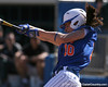 photo by Tim Casey<br /> <br /> Florida junior left fielder Francesca Enea grounds out to third base during the fourth inning of the Gators' 1-0 loss to the Baylor Bears on Sunday, February 8, 2009 at Katie Seashole Pressly Softball Stadium in Gainesville, Fla.