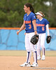photo by Tim Casey<br /> <br /> Florida sophomore Aja Paculba laughs during the Gator softball team's Swinging for Cancer event on Sunday, February 1, 2009 at Katie Seashole Pressly Softball Stadium in Gainesville, Fla.