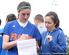 photo by Tim Casey<br /> <br /> Florida junior Francesca Enea checks the lineup sheet during the Gator softball team's Swinging for Cancer event on Sunday, February 1, 2009 at Katie Seashole Pressly Softball Stadium in Gainesville, Fla.