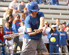 photo by Tim Casey<br /> <br /> Florida baseball sophomore Josh Adams bats during the Gator softball team's Swinging for Cancer event on Sunday, February 1, 2009 at Katie Seashole Pressly Softball Stadium in Gainesville, Fla.