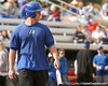photo by Tim Casey<br /> <br /> Florida baseball freshman Preston Tucker bats during the Gator softball team's Swinging for Cancer event on Sunday, February 1, 2009 at Katie Seashole Pressly Softball Stadium in Gainesville, Fla.