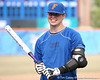 photo by Tim Casey<br /> <br /> Florida baseball's Buddy Munroe smiles during the Gator softball team's Swinging for Cancer event on Sunday, February 1, 2009 at Katie Seashole Pressly Softball Stadium in Gainesville, Fla.