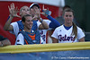 during the Gators' game against the Arizona Wildcats in the Women's College World Series on Thursday, May 28, 2009 at the ASA Hall of Fame Stadium in Oklahoma City / Gator Country photo by Tim Casey