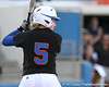 photo by Tim Casey<br /> <br /> Florida senior centerfielder Kim Waleszonia bats during the first inning of the Gators' 10-5 win against the Pacific Tigers on Friday, February 27, 2009 at Katie Seashole Pressly Softball Stadium in Gainesville, Fla.