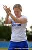 Senior Kim Waleszonia claps while standing on the field of Katie Seashole Pressly Stadium in Gainesville, Fla. on Wednesday, June 3, 2009 after the teams' return from the College World Series in Oklahoma City. / Gator Country photo by Casey Brooke Lawson
