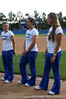 Catcher Kristina Hilberth, pitcher Stacey Nelson and center fielder Kim Waleszonia, all seniors, stand together during the softball teams' returns to Katie Seashole Pressly Stadium in Gainesville, Fla. on Wednesday, June 3, 2009. The team greeted the president of the university as well as fans after their loss to Washington in the finals of the College World Series. / Gator Country photo by Casey Brooke Lawson