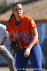 photo by Tim Casey<br /> <br /> Florida senior first baseman Ali Gardiner checks the pitch sign during the Gators' 8-0 win against the Baylor Bears on Saturday, February 7, 2009 at Katie Seashole Pressly Softball Stadium in Gainesville, Fla.