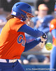 photo by Tim Casey<br /> <br /> Florida freshman Alicia Sisco hits a single during the sixth inning of the Gators' 8-0 win against the Baylor Bears on Saturday, February 7, 2009 at Katie Seashole Pressly Softball Stadium in Gainesville, Fla.