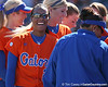 photo by Tim Casey<br /> <br /> Florida senior Le-Net Franklin laughs in the second inning during the Gators' 8-0 win against the Baylor Bears on Saturday, February 7, 2009 at Katie Seashole Pressly Softball Stadium in Gainesville, Fla.