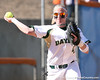 photo by Tim Casey<br /> <br /> Baylor third baseman Brette Reagan attempts to throw out Alicia Sisco at second base during the Gators' 8-0 win against the Bears on Saturday, February 7, 2009 at Katie Seashole Pressly Softball Stadium in Gainesville, Fla.