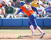 photo by Tim Casey<br /> <br /> Florida sophomore shortstop Megan Bush lays down a sacrifice bunt  in the second inning aduring the Gators' 8-0 win against the Baylor Bears on Saturday, February 7, 2009 at Katie Seashole Pressly Softball Stadium in Gainesville, Fla.