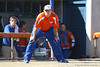 photo by Tim Casey<br /> <br /> Florida head coach Tim Walton looks on during the fifth inning of the <br /> Gators' 8-0 win against the Baylor Bears on Saturday, February 7, 2009 at Katie Seashole Pressly Softball Stadium in Gainesville, Fla.
