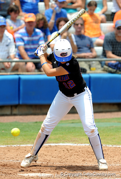 The No. 1/1 Florida softball team defeated the No. 14/16 Cal Golden Bears 2-1 during the second game of the Gainesville Super Regional Sunday, May 24, 2009 in Gainesville, Fla. at Katie Seashole Pressly Stadium. The win improved the Gators to a 60-3 overall for the season and cinched their second-consecutive trip to Oklahoma City for the WomenÕs College World Series. / Gator Country photo by Casey Brooke Lawson