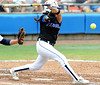 Sophomore Kelsey Bruder bats during the the No. 1/1 Florida softball team's defeat of the No. 14/16 Cal Golden Bears 2-1 in the second game of the Gainesville Super Regional Sunday, May 24, 2009 in Gainesville, Fla. at Katie Seashole Pressly Stadium. The win improved the Gators to a 60-3 overall for the season and cinched their second-consecutive trip to Oklahoma City for the Women's College World Series. / Gator Country photo by Casey Brooke Lawson
