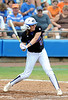 Junior third baseman Corrie Brooks bats during the the No. 1/1 Florida softball team's defeat of the No. 14/16 Cal Golden Bears 2-1 in the second game of the Gainesville Super Regional Sunday, May 24, 2009 in Gainesville, Fla. at Katie Seashole Pressly Stadium. The win improved the Gators to a 60-3 overall for the season and cinched their second-consecutive trip to Oklahoma City for the Women's College World Series. / Gator Country photo by Casey Brooke Lawson