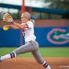 Florida sophomore pitcher Hannah Rogers pitches during the Gators' 9-1 win against the South Carolina Gamecocks on Friday, March 16, 2012 at the Katie Seashole Pressly Softball Stadium in Gainesville, Fla. / Gator Country photo by Saj Guevara
