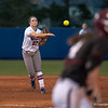 Florida sophomore Cheyenne Coyle   throws to 1st base during the Gators' 9-1 win against the South Carolina Gamecocks on Friday, March 16, 2012 at the Katie Seashole Pressly Softball Stadium in Gainesville, Fla. / Gator Country photo by Saj Guevara